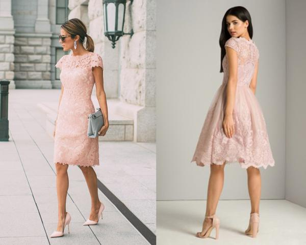 what shoes can i wear with a pale pink dress onehowto