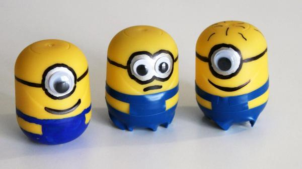 How To Make A Minion Out Of A Kinder Egg