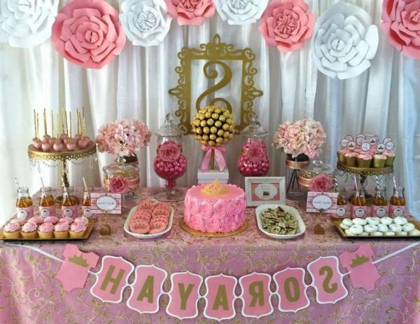 Ideas para decorar una mesa de dulces espectaculares for Mesas dulces cumpleanos adultos